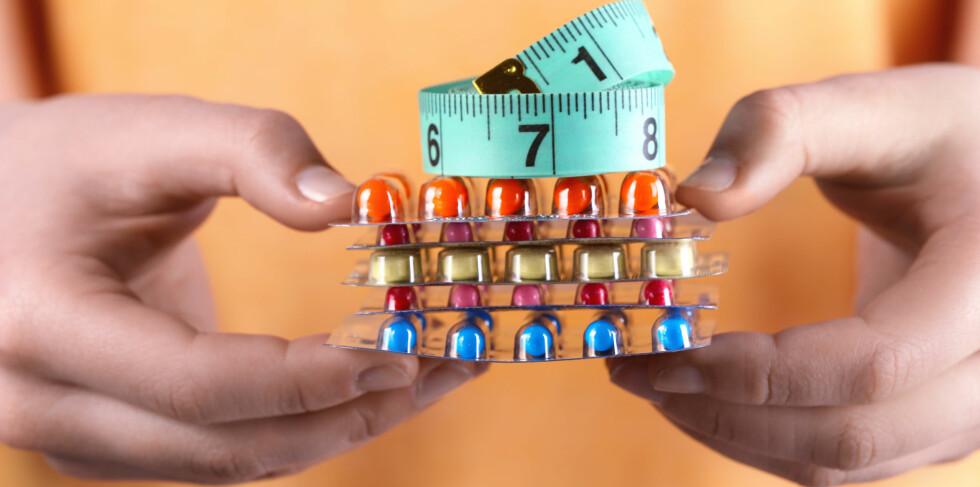 PRODUKTER FOR VEKTNEDGANG: Mange produkter lover vektnedgang, men finnes det noen som fungerer?