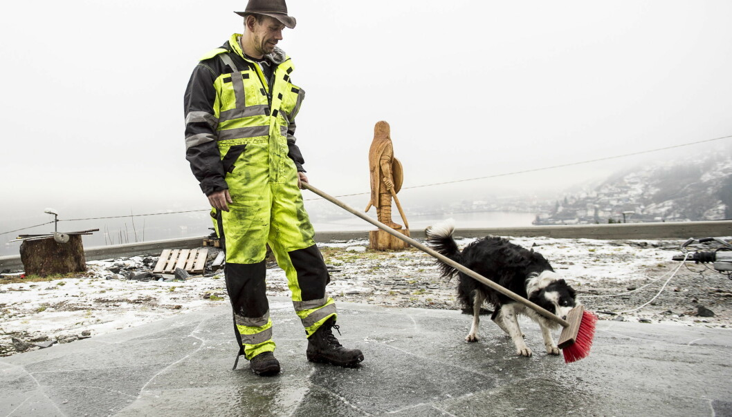 ARBEIDSKAR: Leif Einar Lothe har nok å drive med, og mye av det er svært innbringende. Det kan kanskje forklare årets ville skattesmell. Foto: Lars Eivind Bones / Dagbladet