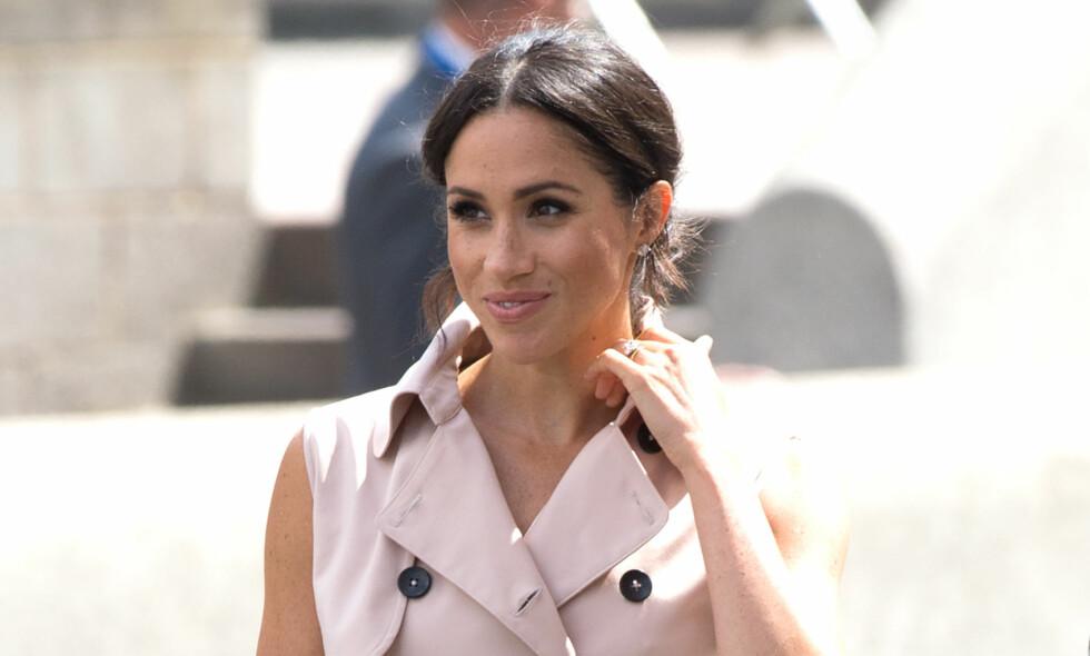 MATREGLER: Etter hun ble Hertuginnen av Sussex, er det flere retter hun må holde seg unna. Foto: NTB Scanpix