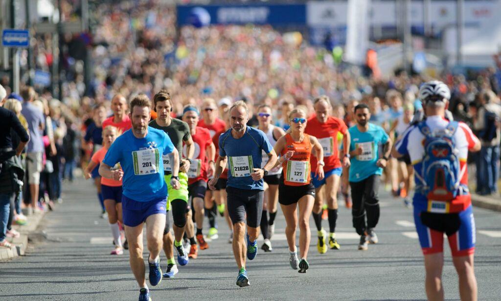 image: Slik løper du maraton på under fire timer