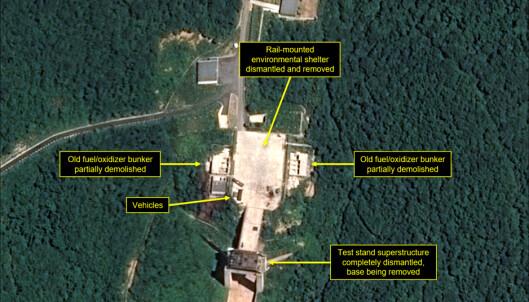 2018: Bildene som antyder at Nord-Korea har tatt «et viktig steg» i riktig retning