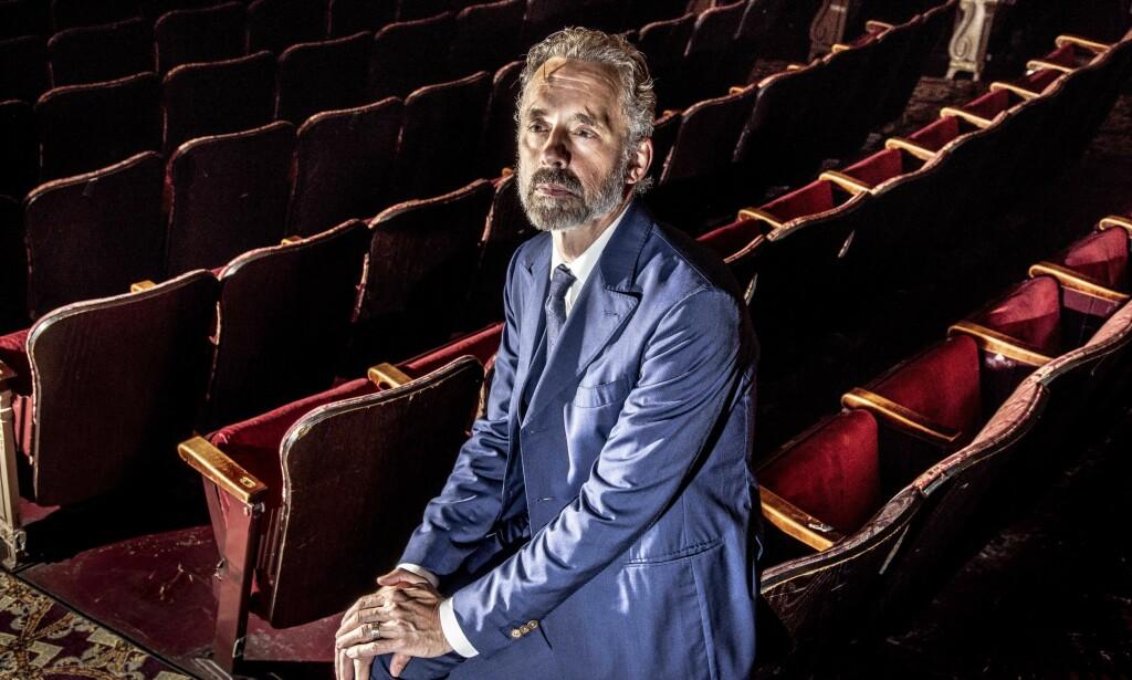 OMSTRIDT: I oktober holder Jordan Peterson foredrag for 1380 nordmenn i et fullstappet Oslo Konserthus. Foto: Mark Peterson / Redux / NTB Scanpix