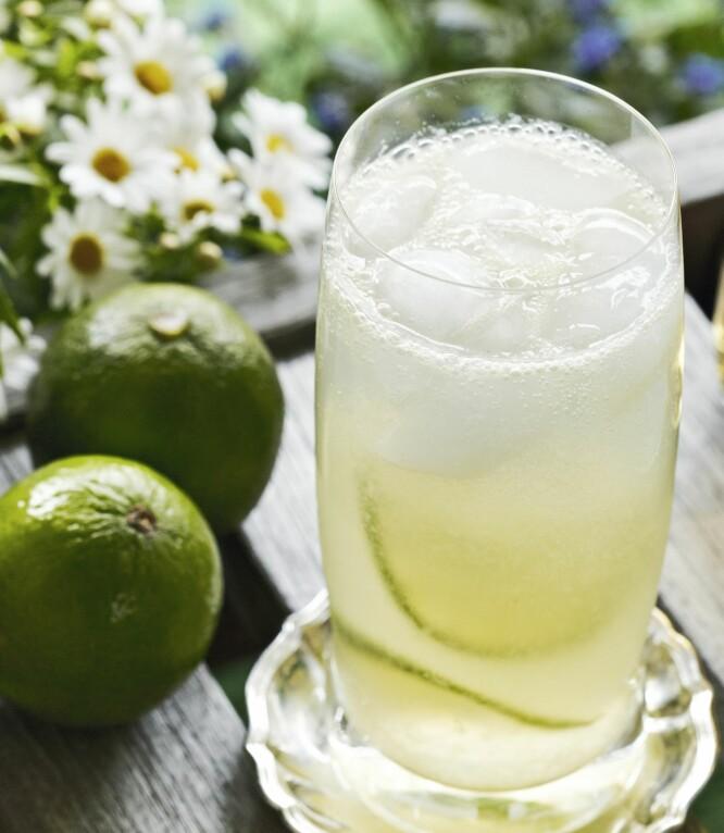 AMBERLIME: Kul og annerledes drink. Perfekt aperitiff! til litt salt snacks!