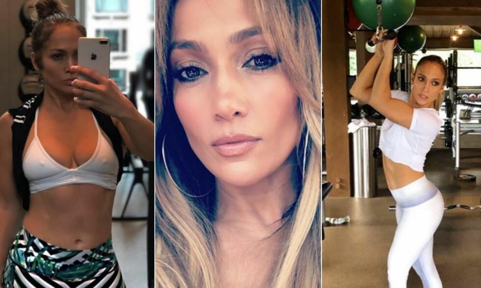 TOPPTRENT: Det kan være vanskelig å tro at Jennifer Lopez fyller 50 år neste år. Foto: Instagram/Jennifer Lopez