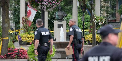 image: IS hevder å stå bak skytingen i Toronto der to ble drept