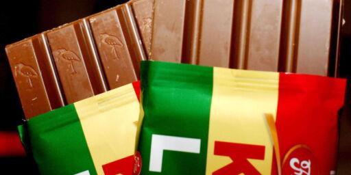 image: Kvikk Lunsj knuste sjokoladegigant