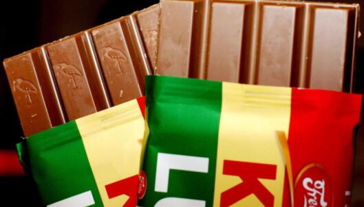 Kvikk Lunsj knuste sjokoladegigant