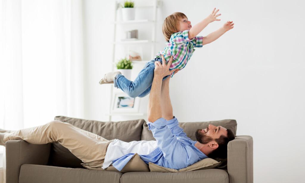 Å BLI FORELDER: Vi mennesker kan velge bort å få barn. Mange gjør også det. Men vi kan ikke velge bort barn når vi først har fått dem, skriver artikkelforfatter. Foto: Syda Productions / Shutterstock / NTB scanpix