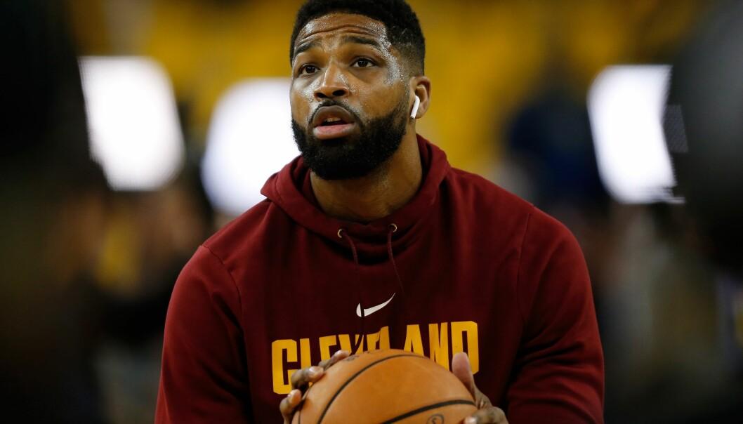 <strong>BASKETSPILLER:</strong> Tidligere var Tristan kun kjent som en av spillerne på Cleveland Cavaliers. I dag er han kanskje best kjent som Khloé Kardashians kjæreste. Foto: Splash News
