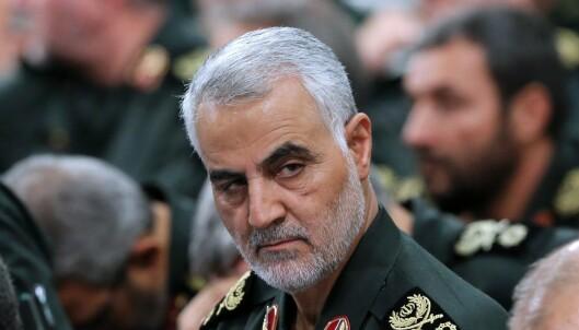 Iransk general håner Trump