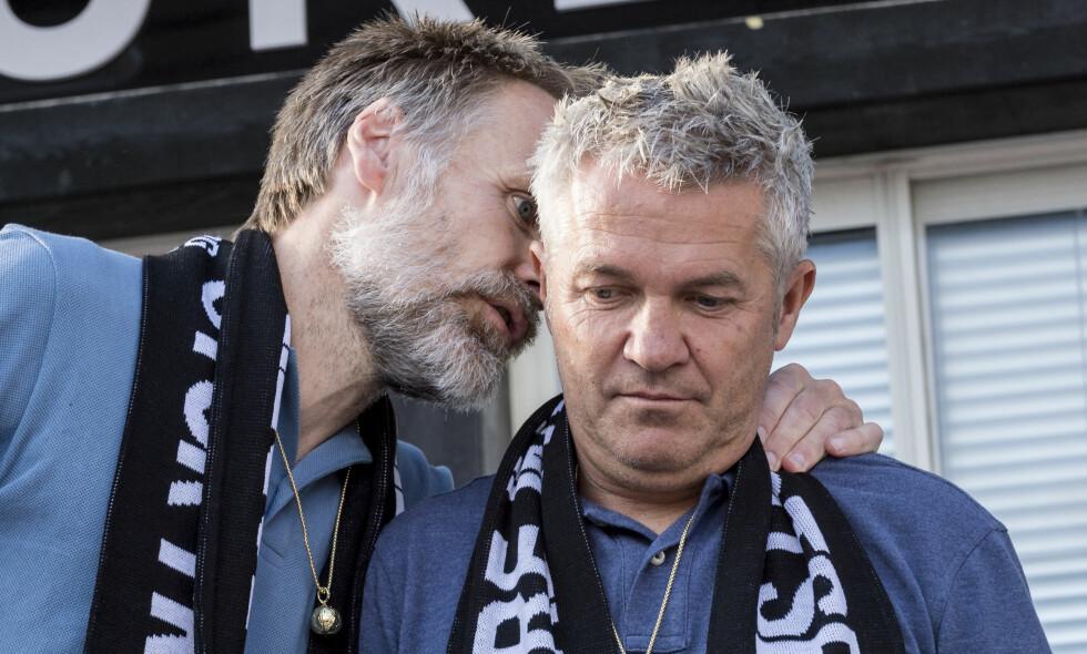 MÅTTE GÅ: Kåre Ingebrigtsen(t.h.) og Erik Hoftun fikk noe overraskende sparken i RBK i forrige uke. Foto: Ned Alley / NTB scanpix