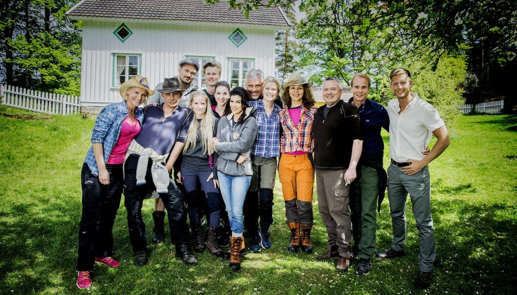<strong>POPULÆRE:</strong> Deltakerne i den første sesongen av «Farmen kjendis» fikk mye omtale. For flere av dem har publisiteten gitt godt med penger i kassa. Foto: Bjørn Langsem / Dagbladet