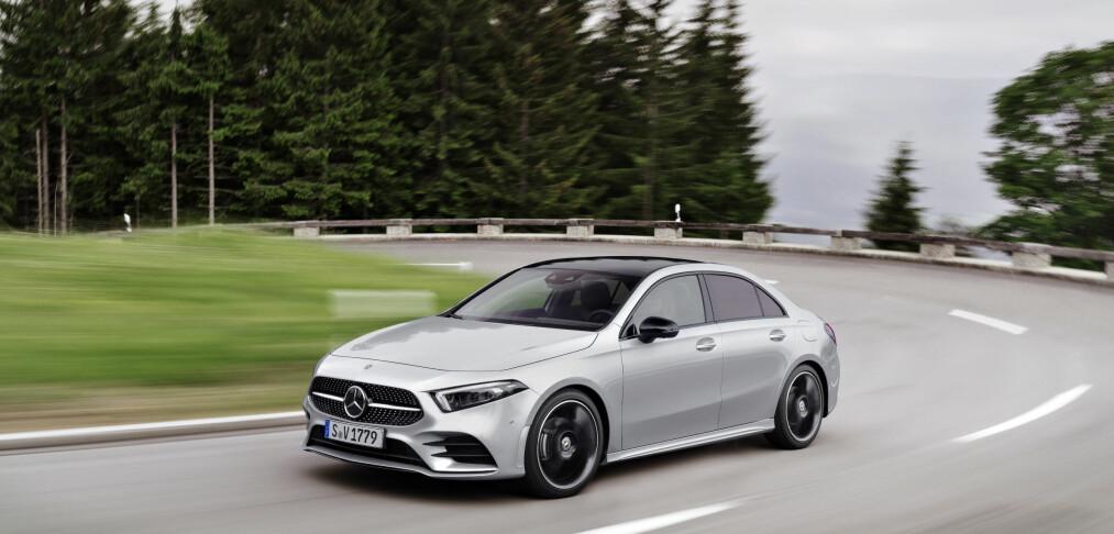 Den nye Mercedes-modellen setter en veldig spesiell rekord