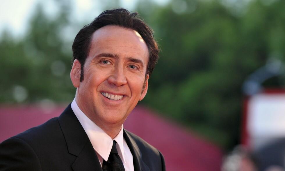 TURBULENT KARRIERE: 54 år gamle Nicolas Cage var en av verdens mest berømte filmstjerner en gang i tida. Nå vurderer han å legge karrieren på hylla. Foto: NTB scanpix