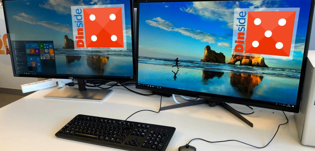 Duell: To svære PC-skjermer til en rimelig penge