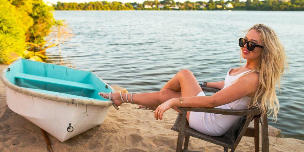 image: Presidentdatteren på ferie med Lindsay Lohan
