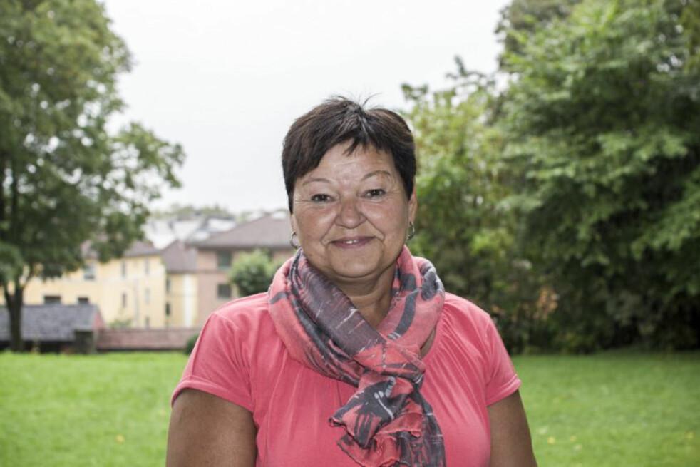 <strong>RAMMET AV REVMATISME:</strong> Etter 25 år med store smerter, ble Anne Bjørg Evenstad diagnostisert med den revmatiske sykdommen Psoriasis artritt. Foto: Privat.