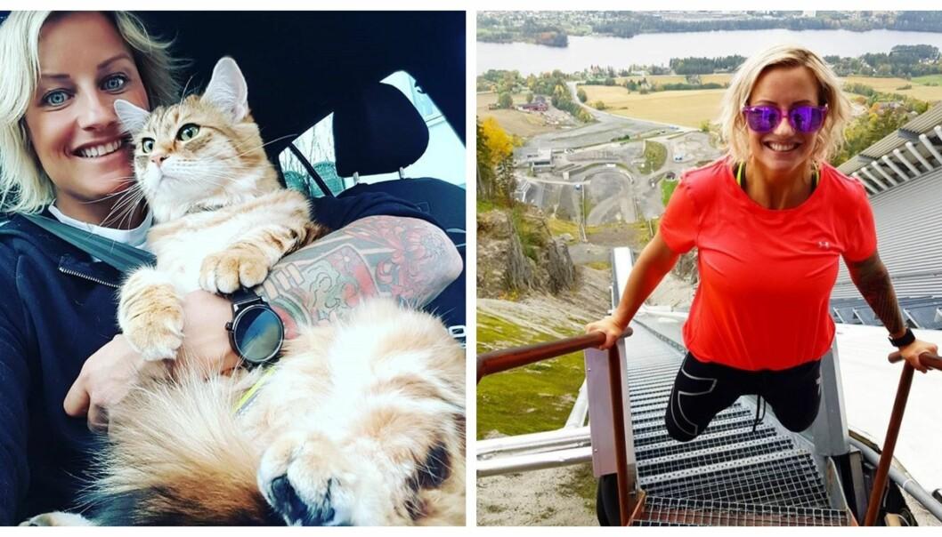 <strong>AKTIV I SOSIALE MEDIER:</strong> Vibeke Skofterud var aktiv på Sosiale medier og delte ofte både inspirerende og søte bilder med sine følgere. Foto: Instargram.