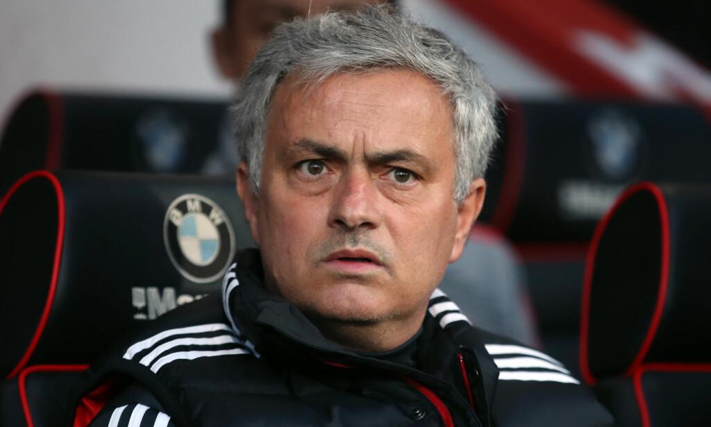 LITE TRO: Burnleys norske supporterklubb tror Mourinho kommer til å furte etter en dårlig sesongstart. Foto: NTB Scanpix