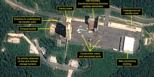 image: USA tror Nord-Korea utvikler nye missiler