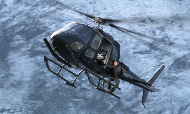 <strong>IKKE REDD:</strong> Tom Cruise (55) er kjent for å gjøre sine egne stunt. Foto: Paramount Pictures.