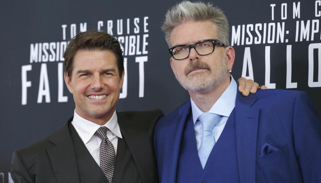 <strong>FRISTER SKJEBNEN:</strong> I «Mission: Impossible»-filmene handler det om å «gjøre alt som er fysisk mulig, uten å drepe Tom», ifølge regissør Christopher McQuarrie. Foto: NTB Scanpix.