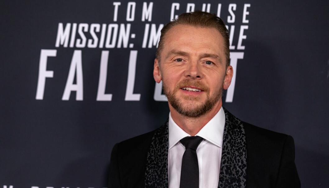 <strong>NERVØS:</strong> - Hovedforskjellen mellom å se Tom gjøre stunt på settet og på kino, er at på kino vet du at han lever etterpå, sa skuespillerkollega Simon Pegg til The Wrap.