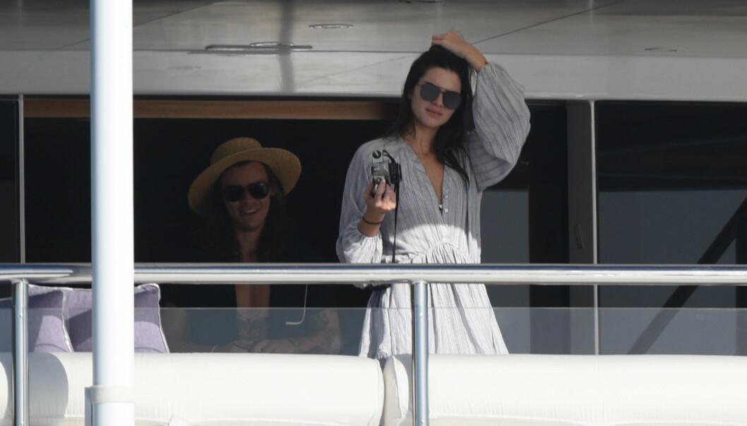 <strong>AV OG PÅ:</strong> Kendall og Harry skal ha hatt et av-og-på-forhold i omlag tre år. Foto: NTB Scanpix