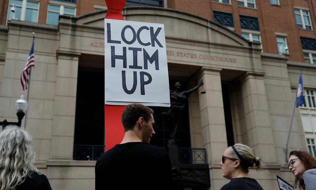 Rettssak mot Trumps tidligere valgkampsjef - Nervespill ...