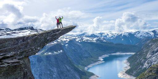image: Ta med teltet - da får du Trolltunga helt for deg selv