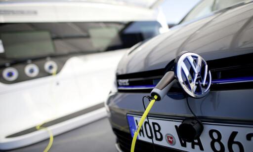 I LADEREN: Det giftige materialet skal sitte i et relé i ombordladeren. Foto: VW