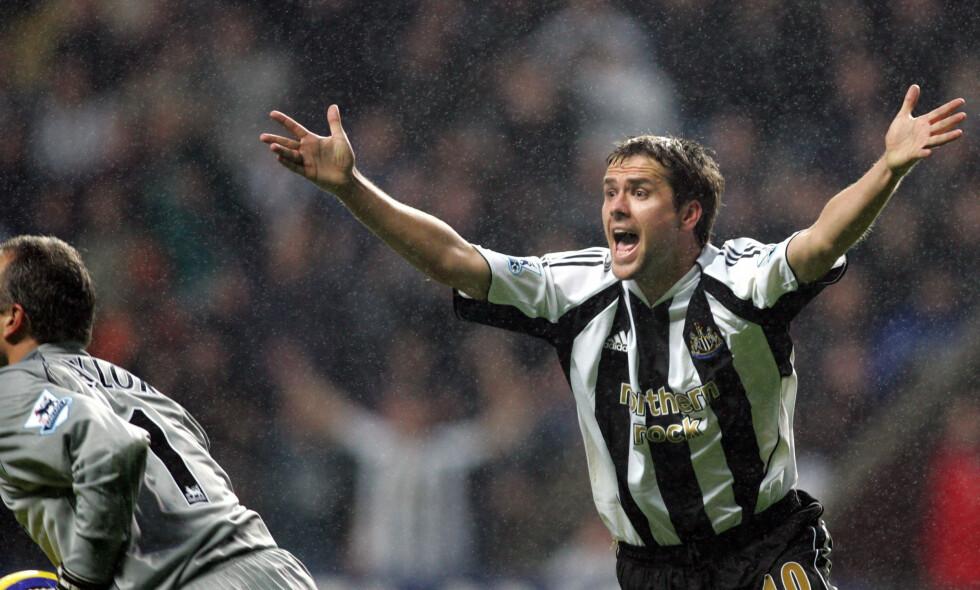 TIDENES DYRESTE: Ingen Newcastle-spillere har kostet mer enn Michael Owen. Foto: AP Photo/Scott Heppell/NTB Scanpix