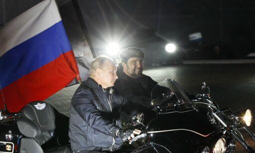 image: MC-klubb tilknyttet Putin holdt militærøvelse i tidligere grisefarm: Nå slår Slovakia alarm