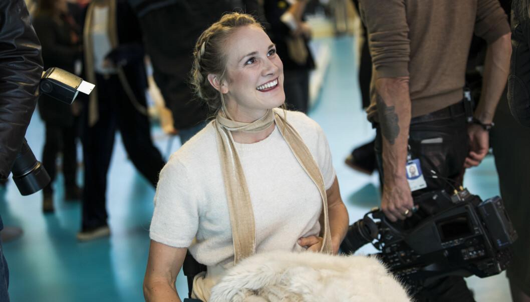 <strong>FORLOVET:</strong> Paralympics-roeren Birgit Lovise Skarstein er forlovet, men bryllupsdatoen er ennå ikke satt. Foto: NTB Scanpix
