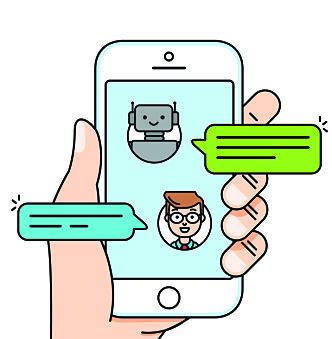 CHATBOT: De siste årene har det kommet flere chatboter på markedet. FOTO: NTB scanpix