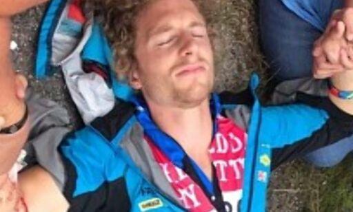 image: Skrekkskade for svensk skiskytter: - Får håpe han kan fortsette karrieren