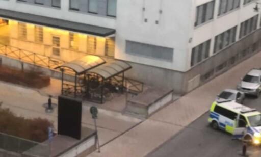 GRANSKES: Politiets håndtering av situasjonen vil bli gjenstand for gransking hos svenskenes spesialenhet for politisaker. Foto: Leserbilde / Expressen
