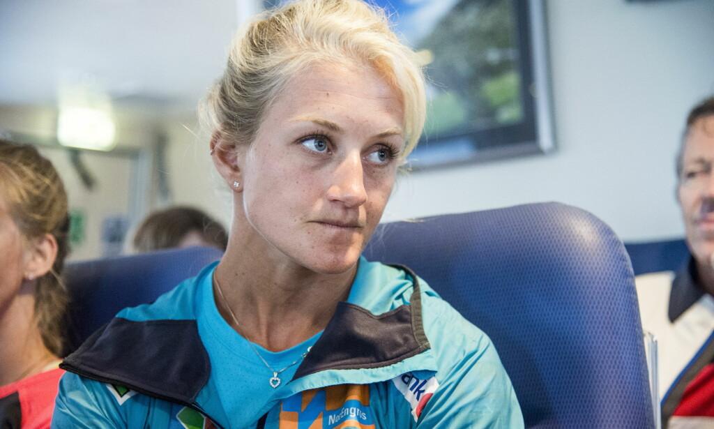 TUNG TID: Kathrine Rolsted Harsem vurderte å legge opp etter den store OL-nedturen. Foto: Andreas Lekang / Dagbladet
