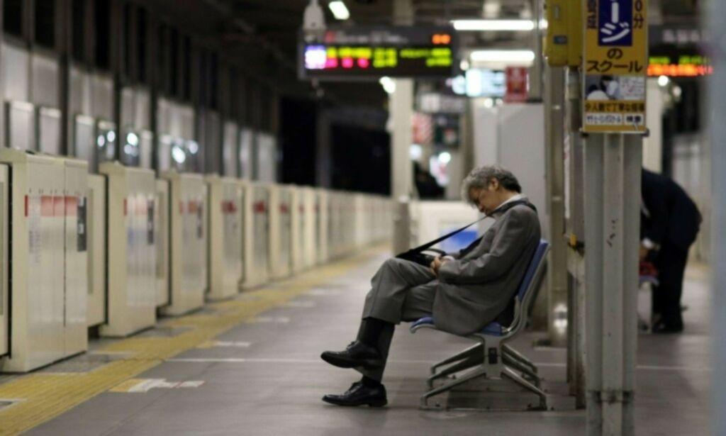image: Japansk arbeider fikk straff for å ha gått til lunsj tre minutter for tidlig