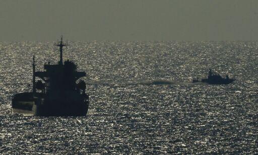 image: Israel stanset nok en båt på vei til Gaza
