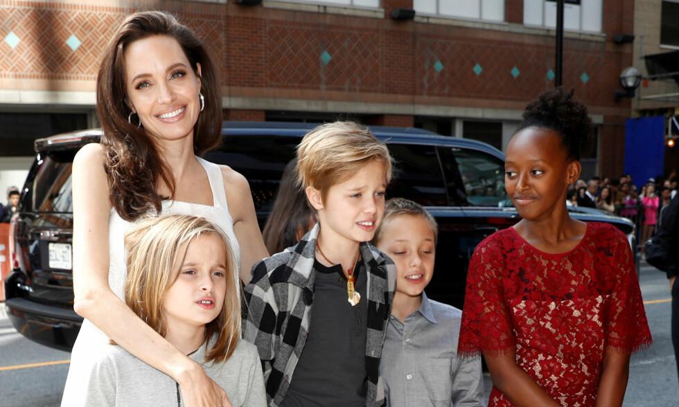 SKILSMISSEPROBLEMER: Skilsmissen mellom Angelina Jolie og Brad Pitt sjokkerer igjen. Foto: NTB Scanpix