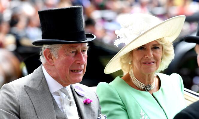 VANSKELIG FORHOLD: Camilla og Charles gikk overhodet ikke en lett vei for å få hverandre. I 2005 giftet de seg. Her sammen tidligere i sommer. Foto: NTB Scanpix