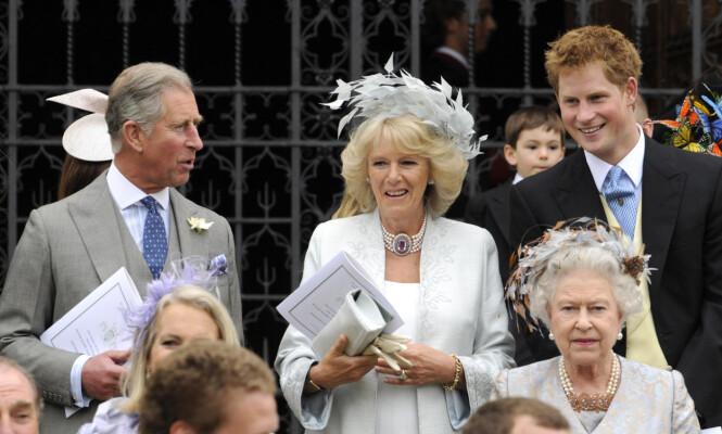 STEMOR: Prins Harry avkrefter ryktene om at hertuginne Camilla er en ond stemor. Foto: NTB Scanpix