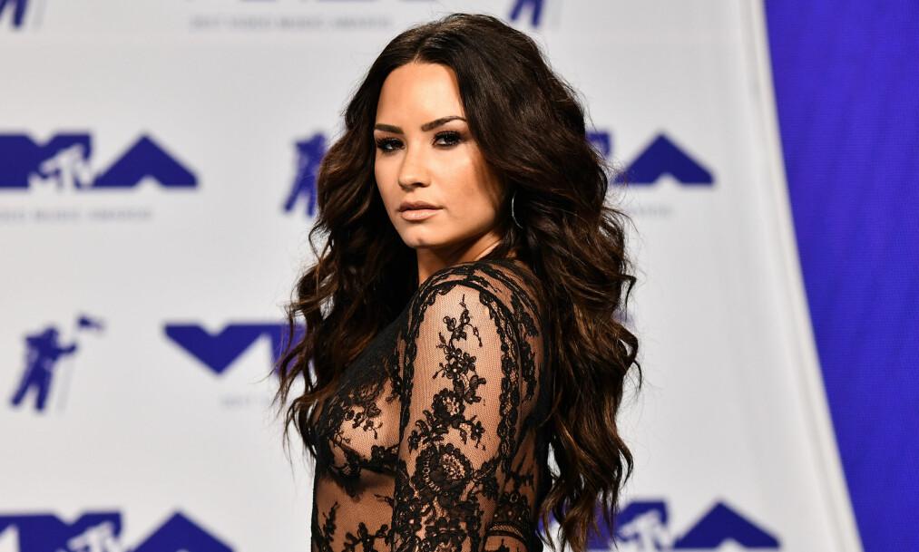 <strong>INNLAGT:</strong> Tidligere i sommer ble Demi Lovato innlagt på sykehuset etter det flere mistenker var en heroinoverdose. Nå snakker hun for første gang etter sykehusinnleggelsen. Foto: NTB Scanpix