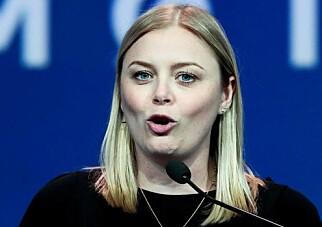 STORTINGET: Tina Bru (33) er stortingsrepresentant og sentralstyremedlem i Høyre. Foto: Scanpix