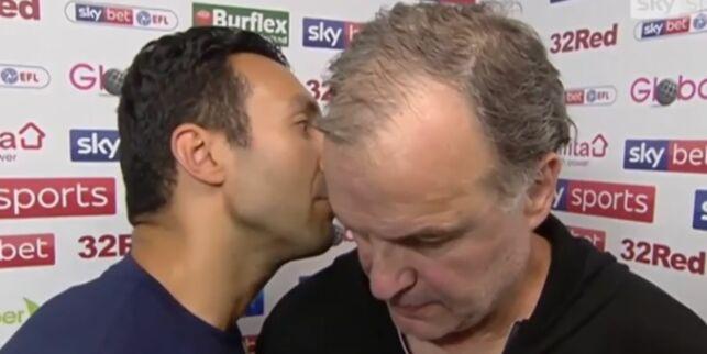 image: Intervjuet med treneren vekker oppsikt. Omtales som «bisart» og «pinlig»