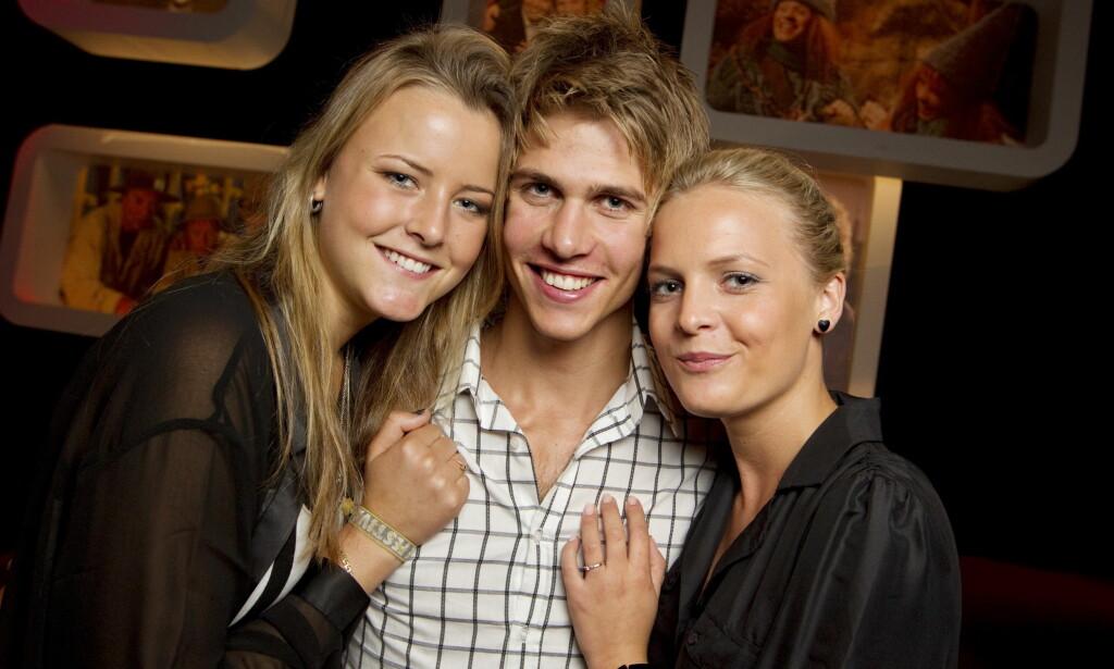 SKAPTE REAKSJONER: Marie Kinge, Thomas Albertsen Dahlen og Pia Dailey Christoffersen var programlederne i den første sesongen av «Trekant» på NRK. Foto: NTB scanpix