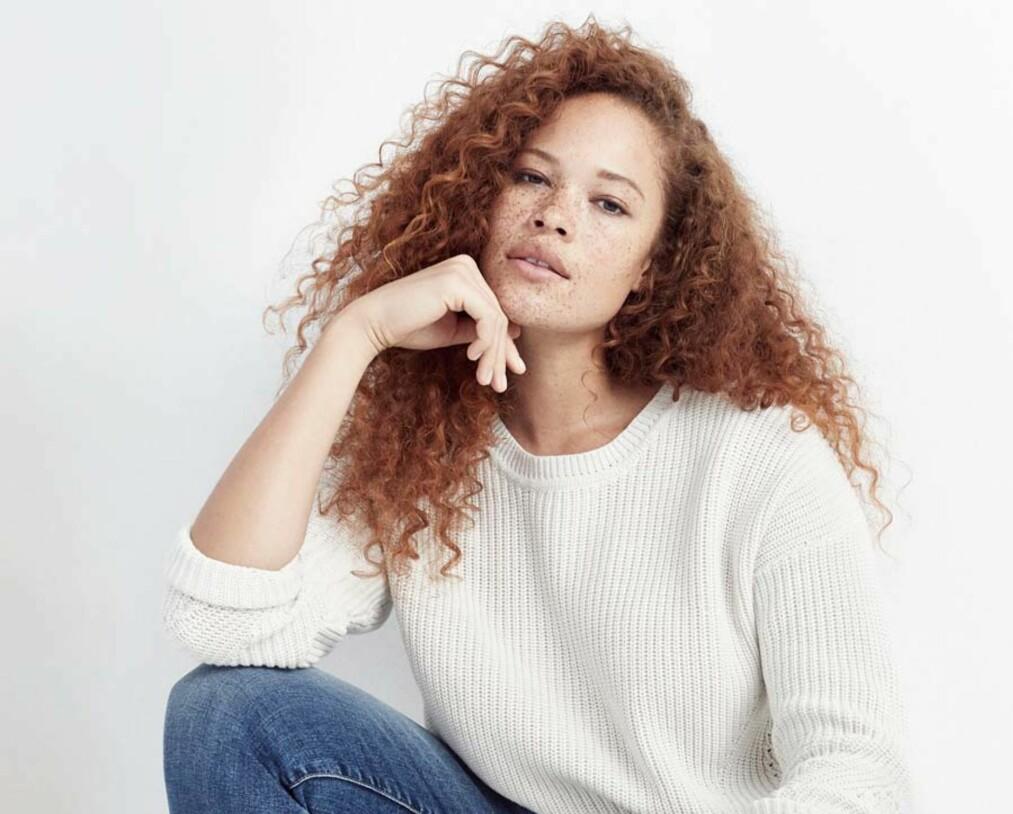KROPPSPRESS: 29 år gamle Sabina Karlsson bor i New York og jobber som modell på heltid. FOTO: JAG Models