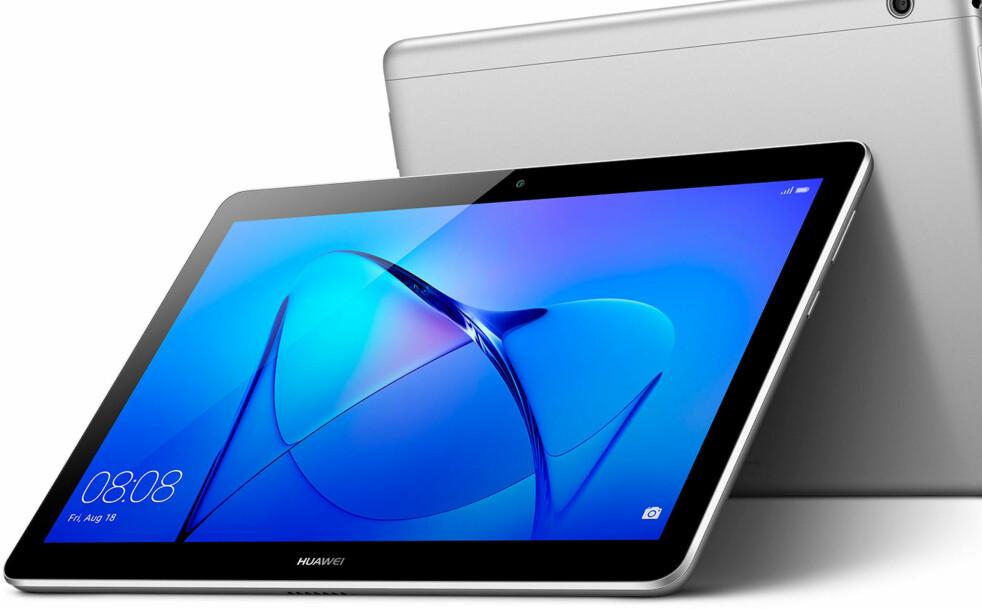 ENKELT NETTBRETT: Huawei MediaPad M5 er en av ekspertenes anbefalinger til deg som ønsker et brukervennlig nettbrett av høy kvalitet. Foto: Produsenten.