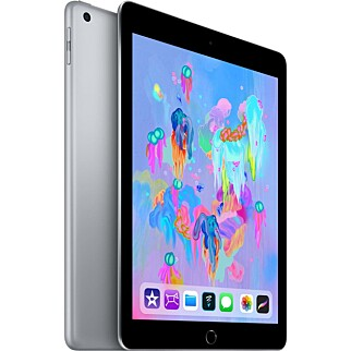 ANBEFALING: Apple iPad 2018. Foto: Produsenten.